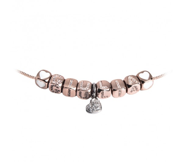 Collana argento rosè - GIULIA