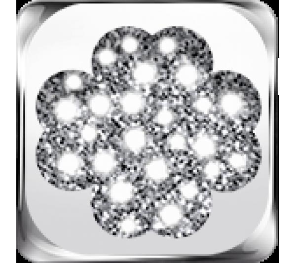 Quadrifoglio argento